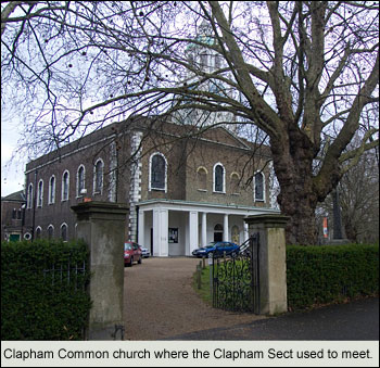 Gordon Rumford Ministries - Daily Devotional - The Clapham Sect